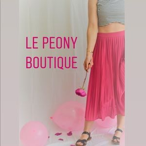 Other - Le Peony Boutique is now open!